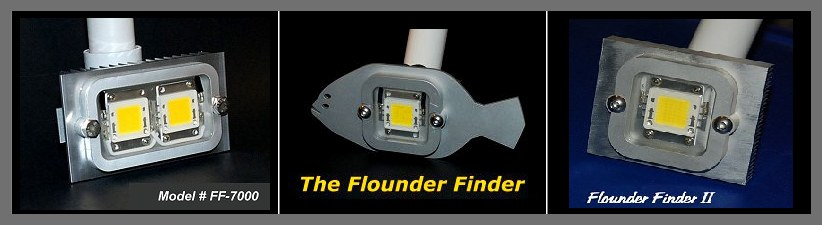 LED lights for flounder gigging.